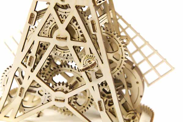 mill 3D puzzle gears toy for teenagers