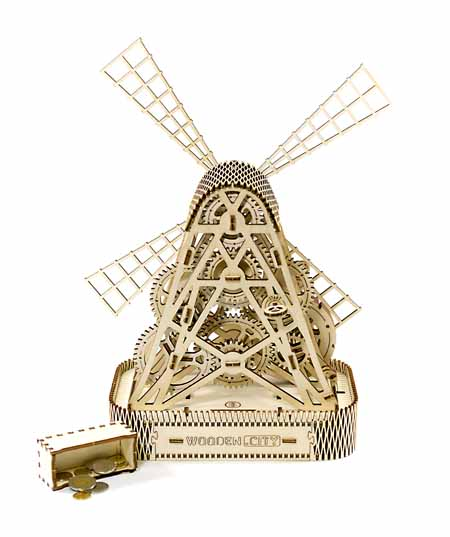 mill 3D puzzle toy for teenagaers