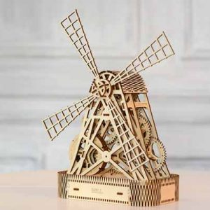 mill 3D puzzle toy for teenagers