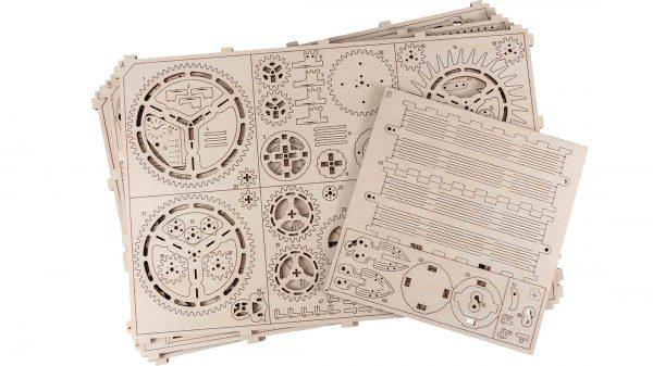 royal clock 3D model puzzle