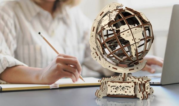 world globe by Wooden.City